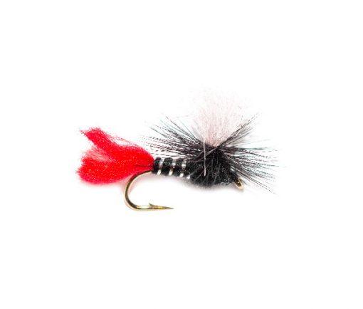 Black Zulu Parachute Fishing Flies