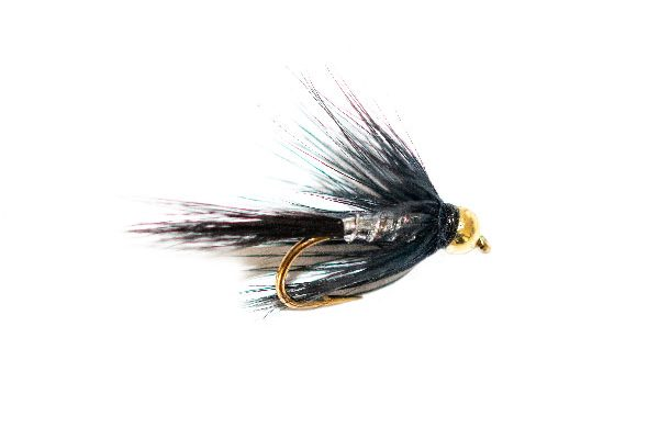 Blae & Silver Wet Fly Goldhead