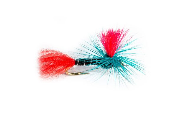 Blue Zulu Red Hot Spot Parachute Fishing Flies