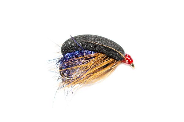 Trout Fishing Flies Foam Beetle Purple