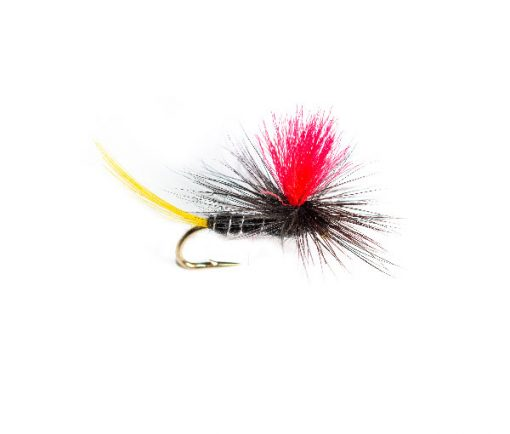 Connemara Black Red Hot Spot Parachute Dry Fishing Fly