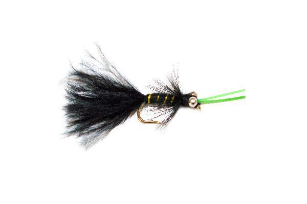 Fishing Flies Shop, Kicking Black Cat