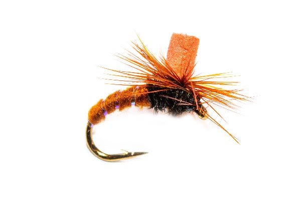 Brown Suspender Parachute Orange Hot Spot