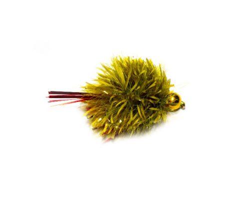 Olive Red Flash Damsel Blob