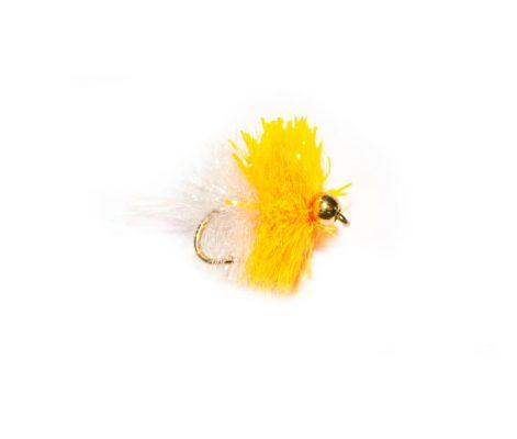 Orange & White Gold Head Shimmer Blob