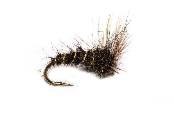 Fish Fishing Fly Dark Olive Deer Hair Emerger