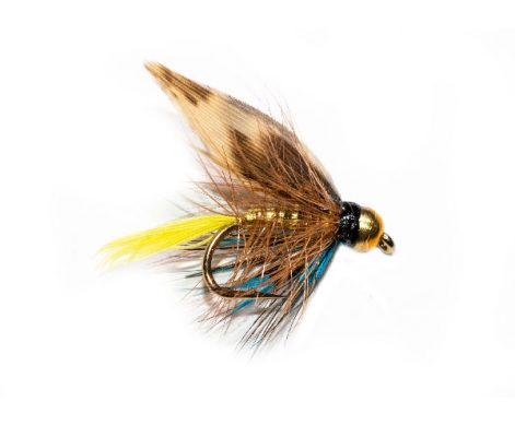 Fish Fishing Fluies, Gold Invicta Goldhead