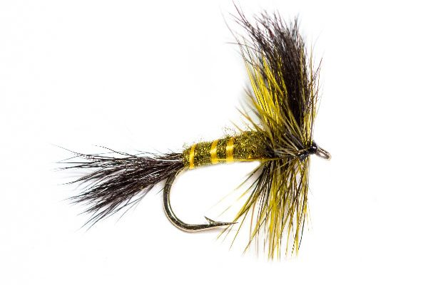 Fish Fishing Flies Green Rough Body Drake