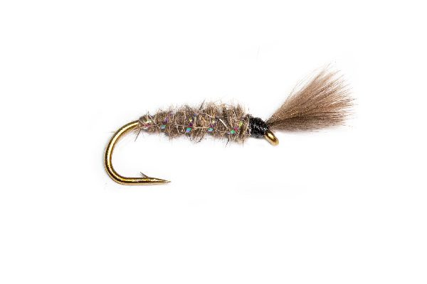 Hares Ear Devil CDC Trout Fishing Flies