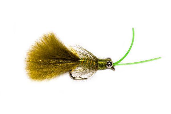 Fish Fishing Flies Kicking Olive Killer Nymph