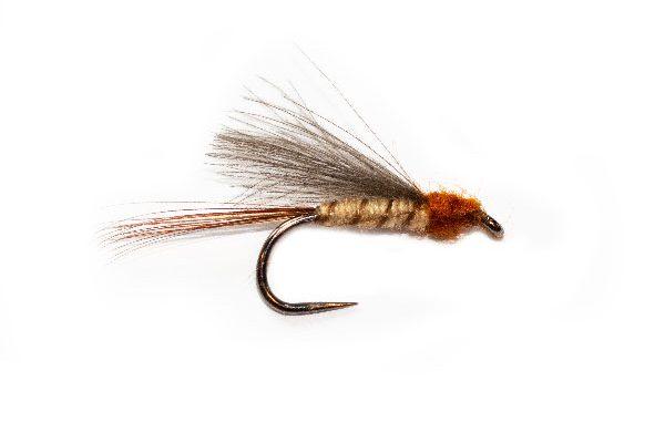 Light CDC May Dun Trout Fishing Flies
