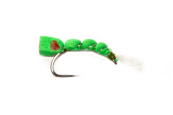 Olive Foam Emerger Fishing Fly