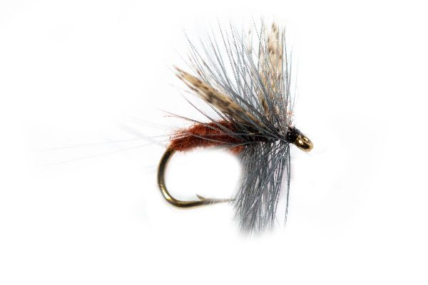 Rust Body Thorax Dry Fly