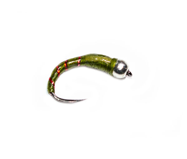 OLIVE GOLDHEAD Epoxy Buzzers Fly Fishing Trout Flies various options