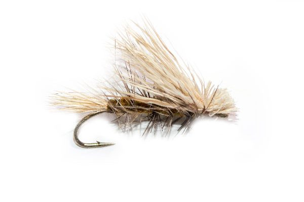 White Deer Wing Olive Emerger Fishing Fly