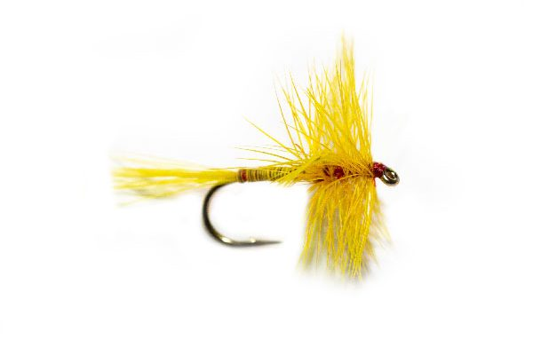 Fish Fishing Flies, Yellow Boy Quill