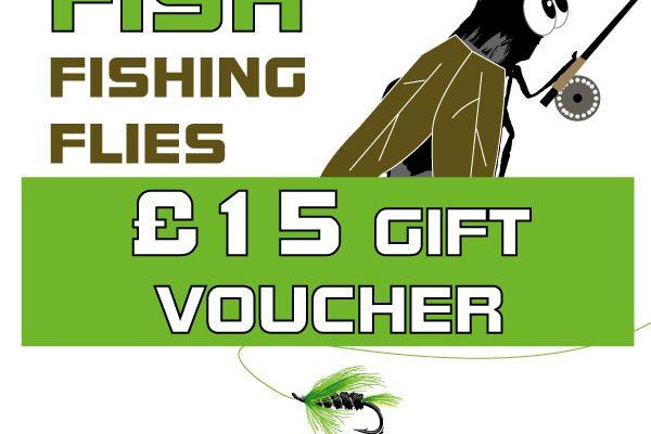 £15 Gift Voucher Fishing Flies