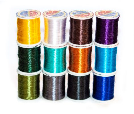 Waterburn Pro-Line Fine Sheen Fly Tying Floss Collection