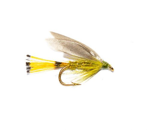 Blue Wing Sooty Olive Wet Fly