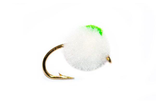 Bright White Egg Green Hotspot