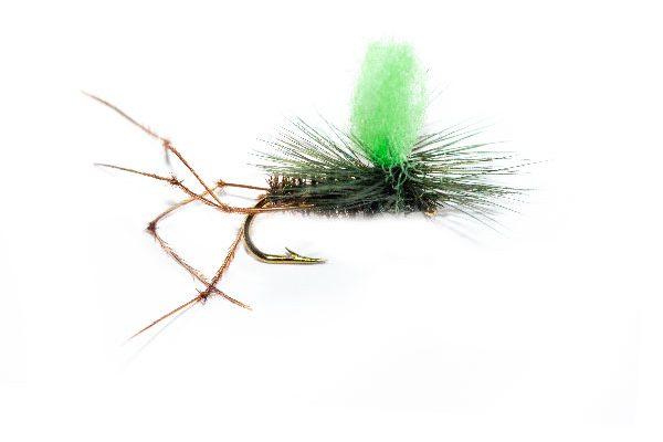 Daddy Long Legs Peacock Body Parachute Green Hotspot