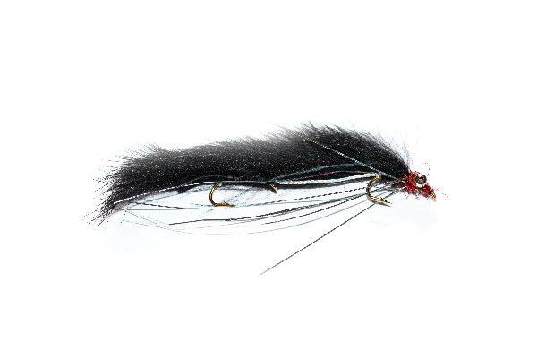 Harrys Black and Silver Reservoir Snake Fishing Fly