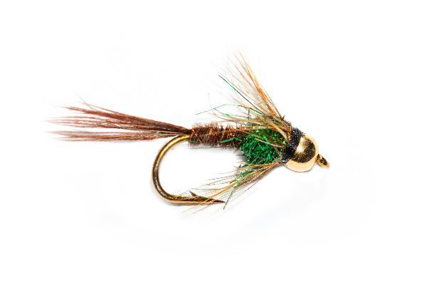 Pheasant Tail Goldhead Emerald Angelina Sparkle Thorax