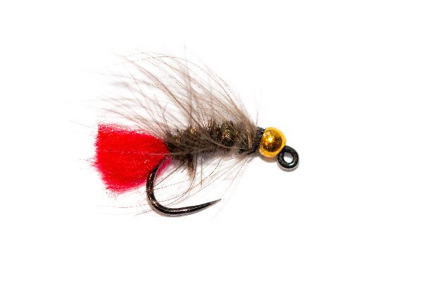 Red Tag CDC Jig Nymph Fishing Fly