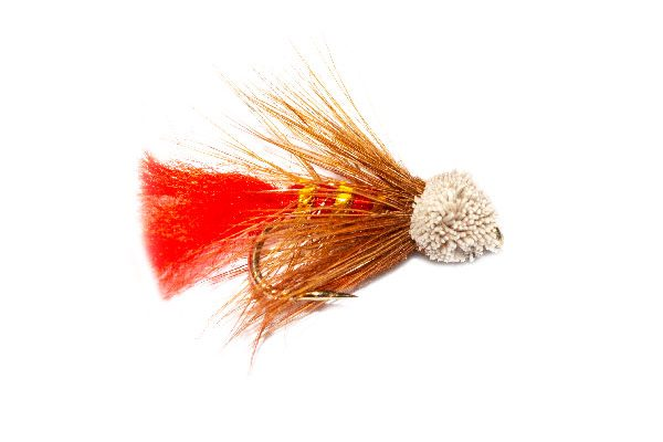 Soldier Palmer Mini Muddler Trout Fly