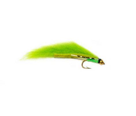 Flexi Green Annihilator Zonker Trout Fishing Fly