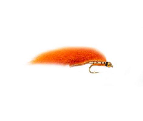 Trout Fishing Flies Flexi Orange Annihilator Zonker
