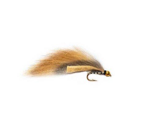 Flexi Rabbit Natural Zonker Fishing Fly
