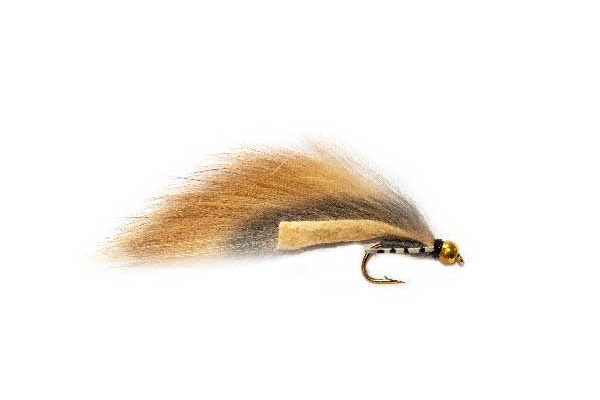 Flexi Rabbit Natural Zonker Fishing Fly