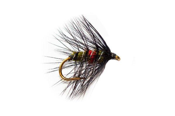 Bibio Olive Body Fishing Flies