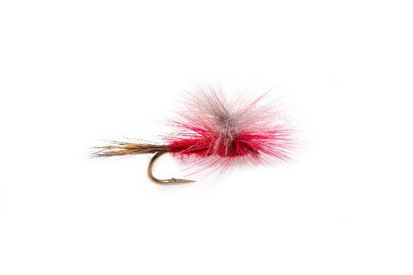 CDC Fire Parachute Fly Fishing Flies