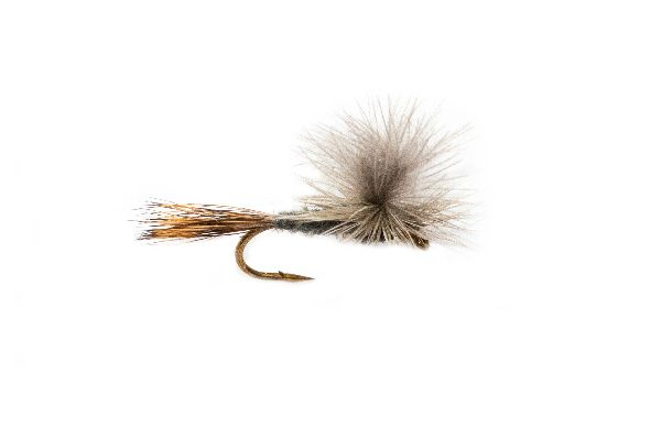 CDC Grey Wulff Natural Parachute