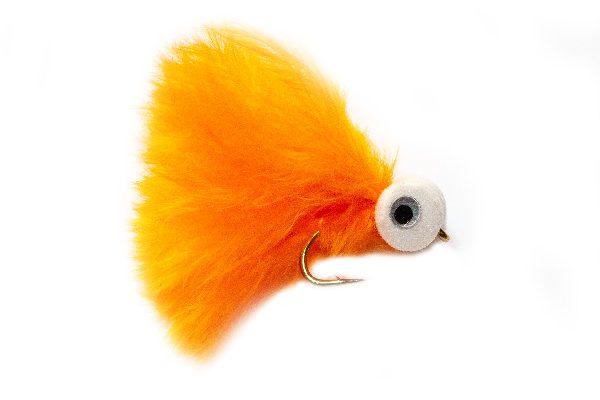 Orange Booby Eyes Fishing Flies