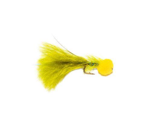 Hatching Yellow Hot Head Blue Flash Damsel