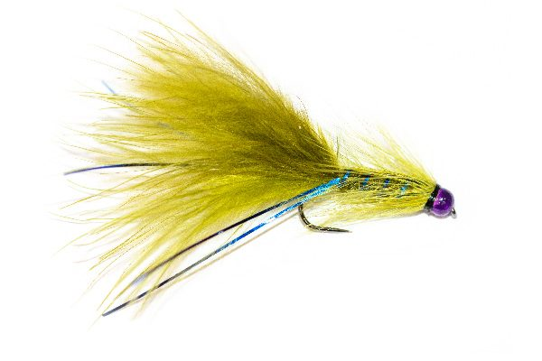 Blue Flash Damsel UV Violet Head
