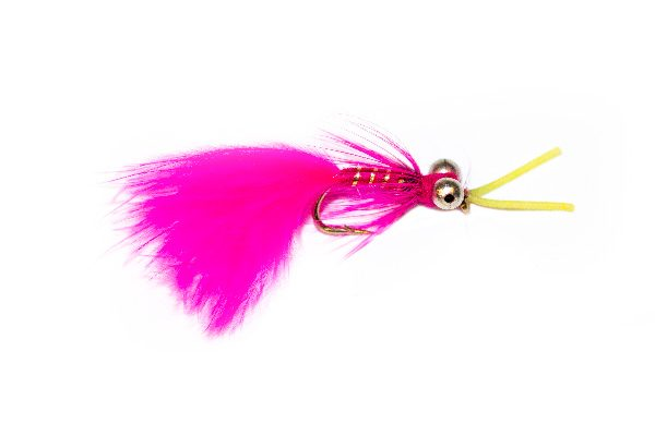 Pink Kicking Cat Fishing Fly