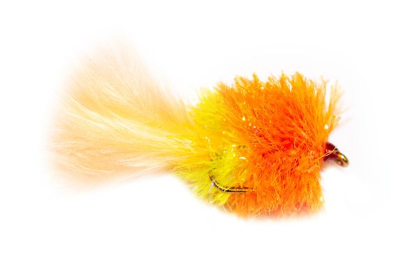 Fishing Fly - Saffron Paffron Nemesis Blob