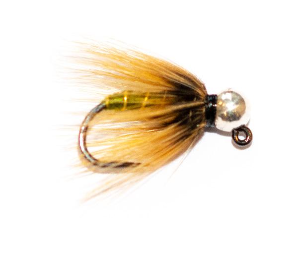 Fishing Flies - Silver Tungsten Nymph Greenwells Spider