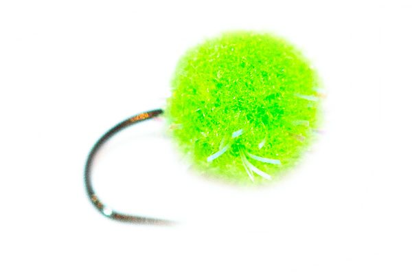 Fishing Flies For Sale - Visi Green Crystal Egg