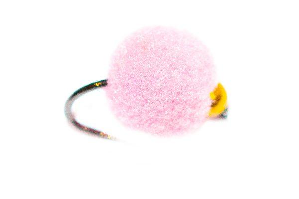 Egg Fishing Fly - Visi Pink Killer Egg Gold Nugget