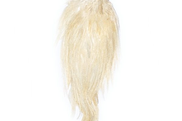 Large Blonde White Cock Cape
