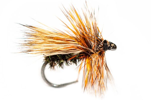 Fishing Flies - Peacock Caddis Dry Fly