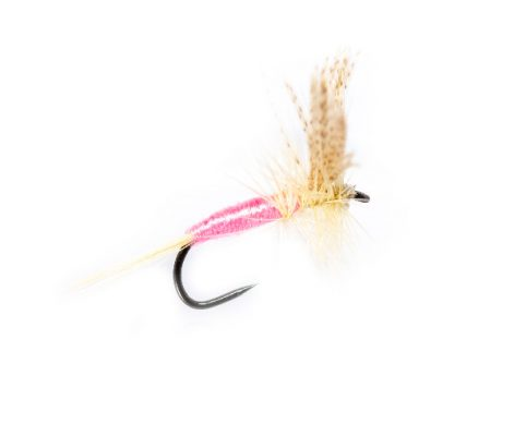 Dry Fishing Flies - Pink Cahill Dry Fly