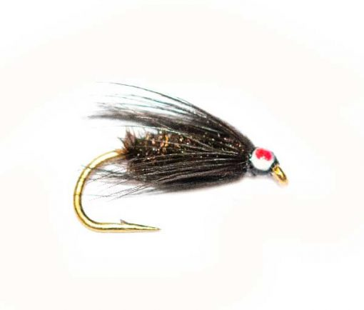 Eyed Black and Peacock Trout Fly