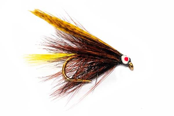 Eyed Boghill Dark Claret Trout Fly
