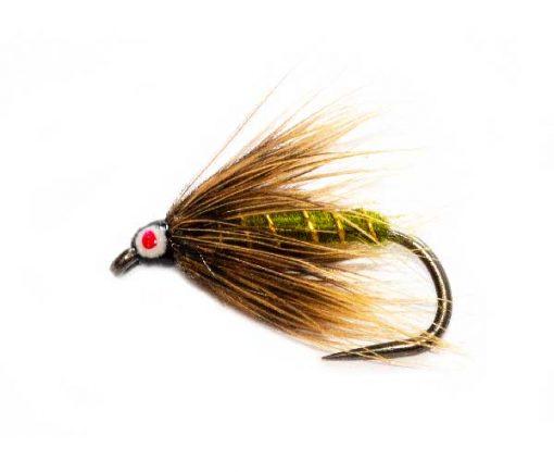 Eyed Greenwells Spider Fishing Flies